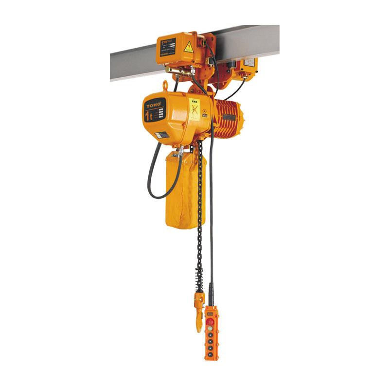 Electric Chain Hoist With Electric Motor Trolley Shabbir